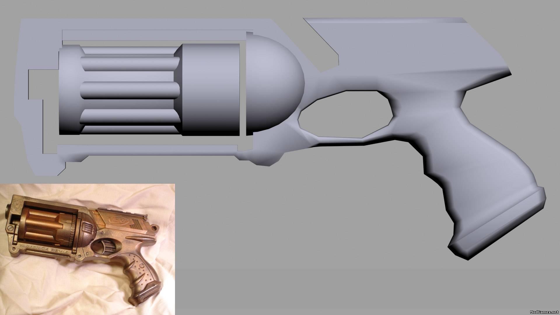 Моделирование для оружия программу